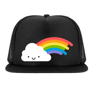 Whistle & Flute Kawaii Rainbow Snapback Trucker Cap