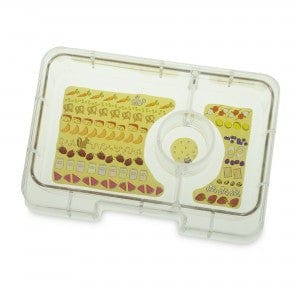 Yumbox Mini Snack 3-Compartment Food Tray - Hollywood Pink Removable Tray