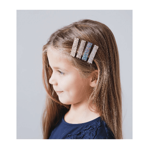 Mimi & Lula 5 Pack Hair Clips - Super Sparkle Glitter Lifestyle