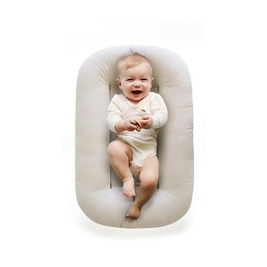 Snuggle Me Organic Infant Lounger - Natural Lifestyle 1