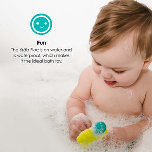 bblüv Kräb 3-in-1 Bath Thermometer Bath Toy