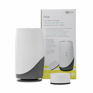 bblüv Püre 3-in-1 HEPA+ Air Purifier with Activated Carbon Filter