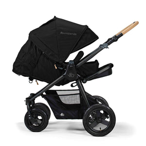 Bumbleride Era Stroller - Matte Black Infant Ready