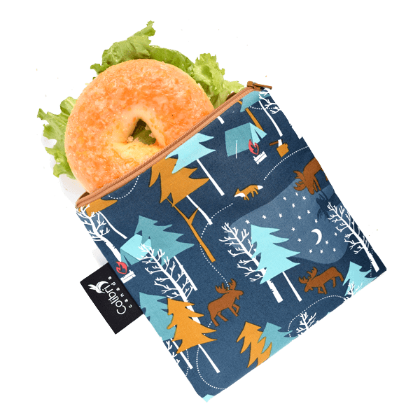 Colibri Large Reusable Snack Bag - Camp Out