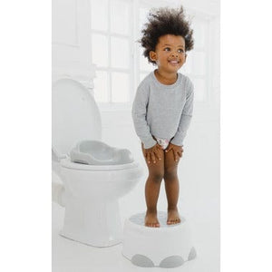 Bumbo Step 'N Potty - Cool Grey Lifestyle 2