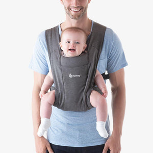 Ergobaby Embrace Carrier - Heather Grey Forward Facing