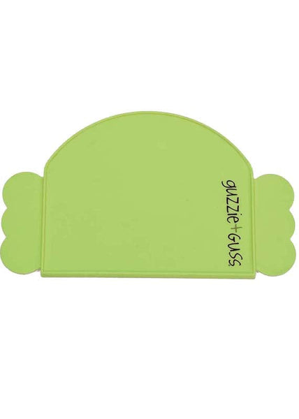 Guzzie + Guss Perch Silicone Placemat - Green