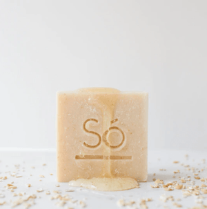 So Luxury Cleansing Bar - Honey Oat - soap bar detail