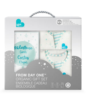 Love to Dream Organic Swaddle Up Gift Set - Mint
