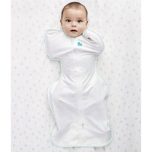Love to Dream Swaddle UP Organic - Mint Lifestyle 2