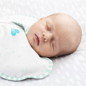 Love to Dream Swaddle UP Organic - Mint Lifestyle 1