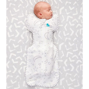 Love to Dream Swaddle UP Silky Lux Bamboo - Grey Lifestyle 1