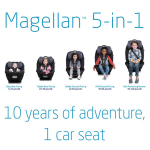 Maxi-Cosi Magellan 5-in-1 Car Seat - Birth to 10 Years