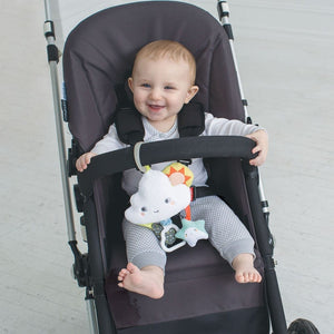 Skip Hop Silver Lining Cloud Jitter Stroller Baby Toy - Lifestyle
