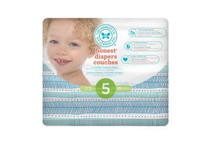 The Honest Company Honest Diapers - Size 5 - teal tribal pack