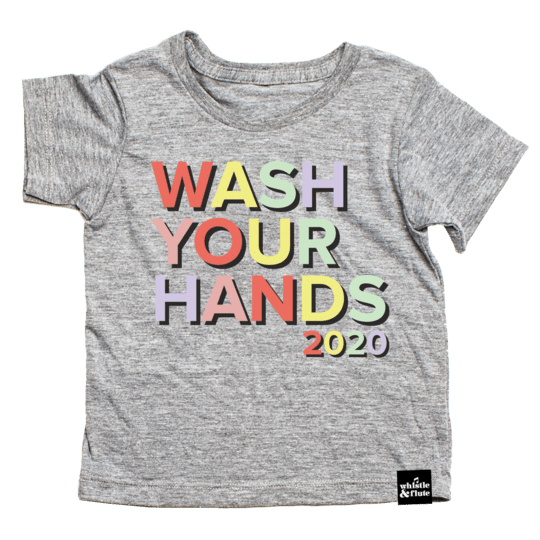 Whistle & Flute T-Shirt - Wash Your Hands 2020 (Limited Edition)