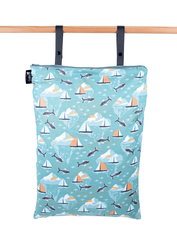 Colibri Extra Large Wet Bag - Narwhals