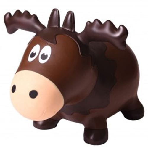 Farm Hoppers Wildlife Bouncy Toy - Moose