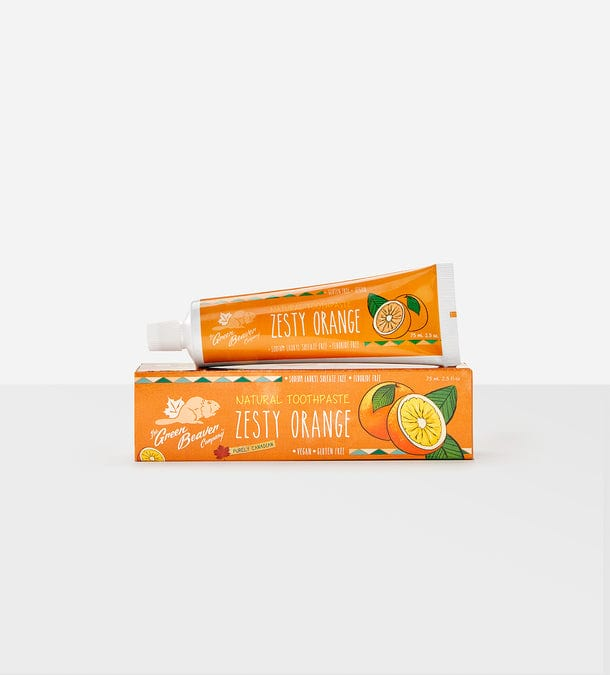 The Green Beaver Company Natural Toothpaste - Zesty Orange