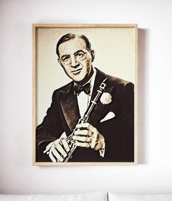Jazz Art | Benny Goodman Poster