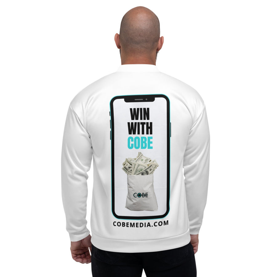 COBE MEDIA - ' WIN WITH COBE' Bomber Jacket
