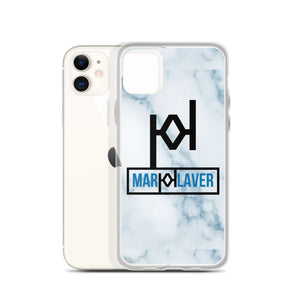 MARK KLAVER | Blue Marble iPhone Case