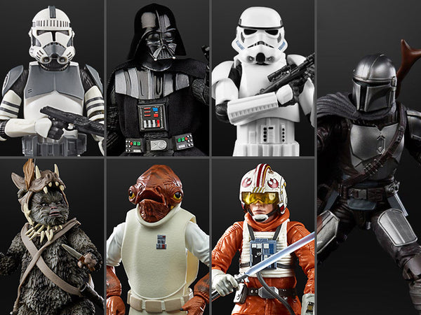 "Star Wars: The Black Series 6"" Wave 35 Set of 7 Figures"