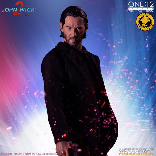 Mezco One:12 Collective John Wick: Chapter 2 - Deluxe Edition