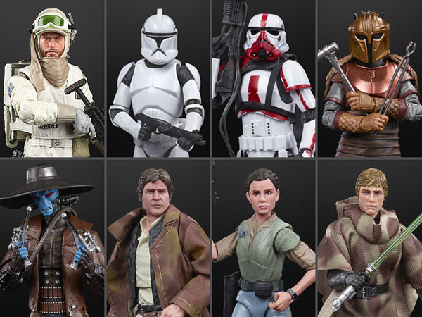Star Wars The Black Series 6-Inch Action Figures Wave 2 Case- Set of 8 Figures