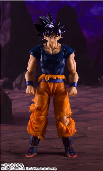 Demoniacal Fit Tenacious Martialist: DF SSJ Blue Battle Damaged Goko (Restock)