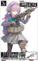 TOMYTEC's Little Armory M4A1 SOPMOD Block 2 LA037 Model Kit