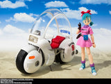 S.H. Figuarts Bulma's (Hoipoi) Capsule No. 9 Bike from Dragon Ball