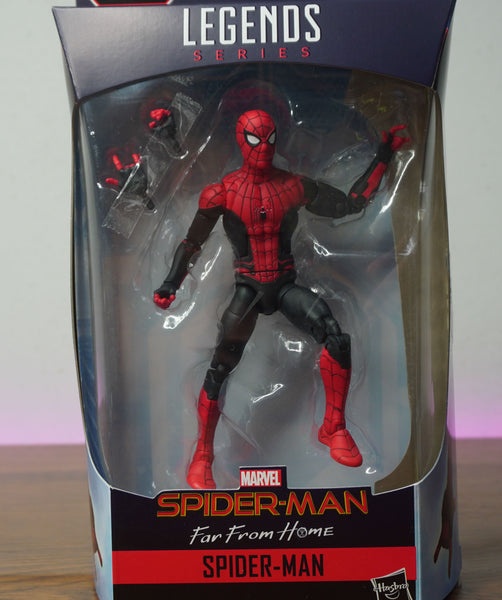 Refinished Custom Marvel Legends Spider-Man: Far From Home