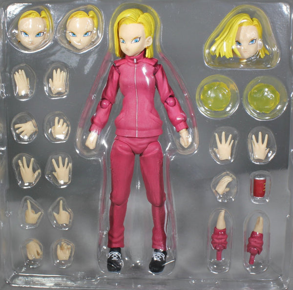 Class E Adventurer - Android 18 Tracksuit Ver. (Closed Collar)