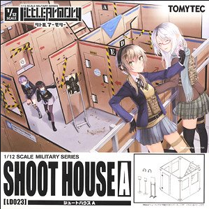 TOMYTEC's Little Armory (LD023) 1/12 Shoot House A Plastic Model