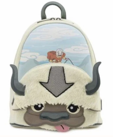 Loungefly Avatar: The Last Airbender Aang and Appa Plush Mini-Backpack