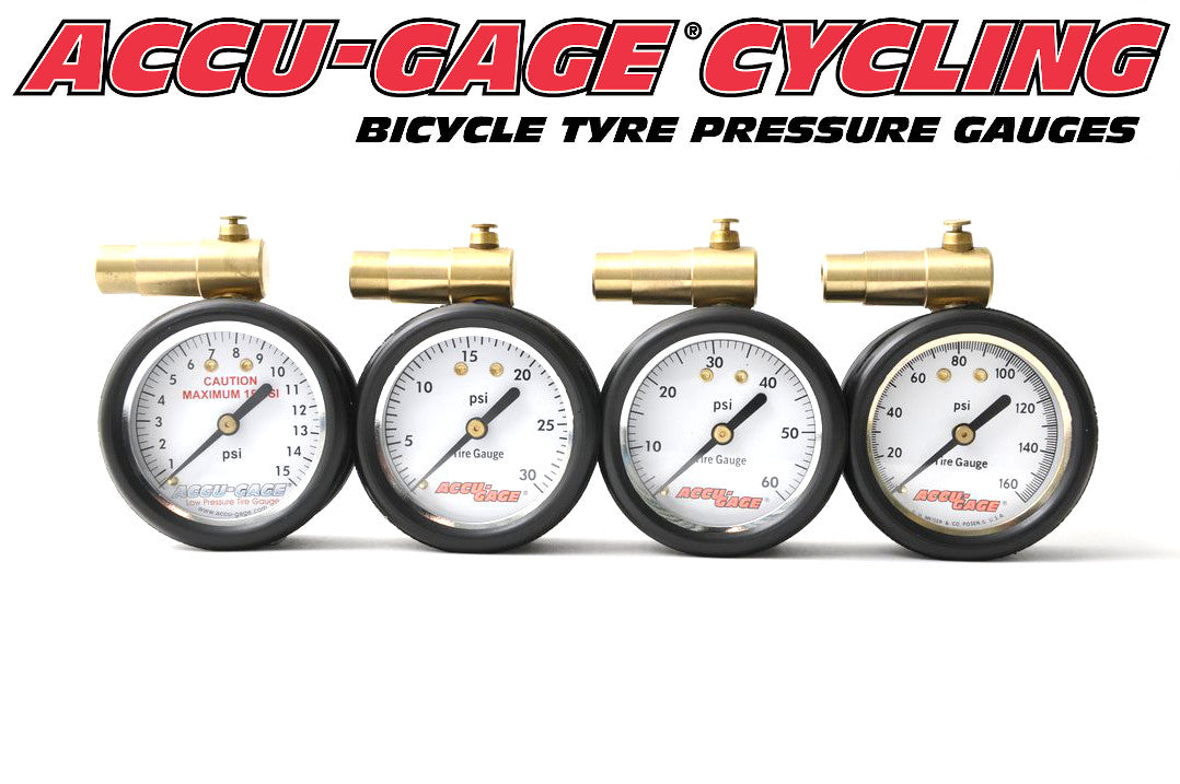 A range of simple, rugged and accurate bicycle tyre pressure gauges, optimised for Fat Bike, Cyclo Cross, Gravel, MTB or Road & Track disciplines