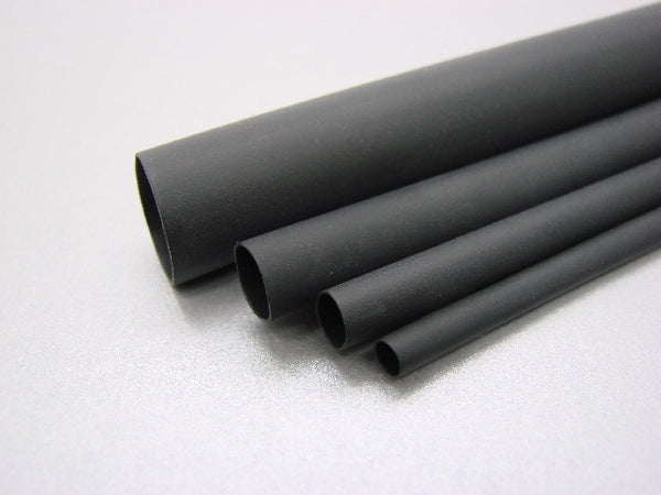 "3/32"" Diameter Black Heat Shrink"
