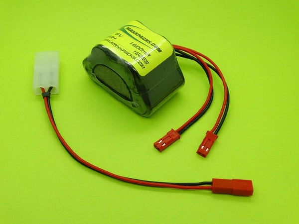 1605S 6V 1600mAh NiMH Receiver pack for HPI Savage