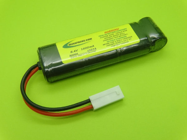 1607A ATTACK PACK: 8.4v Nimh 1600mah Airsoft Battery