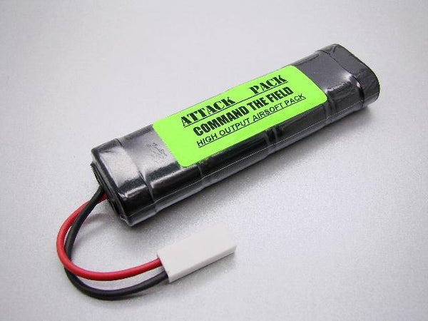 1608A ATTACK PACK: 9.6v NiMH 1600mah Airsoft Mini Pack