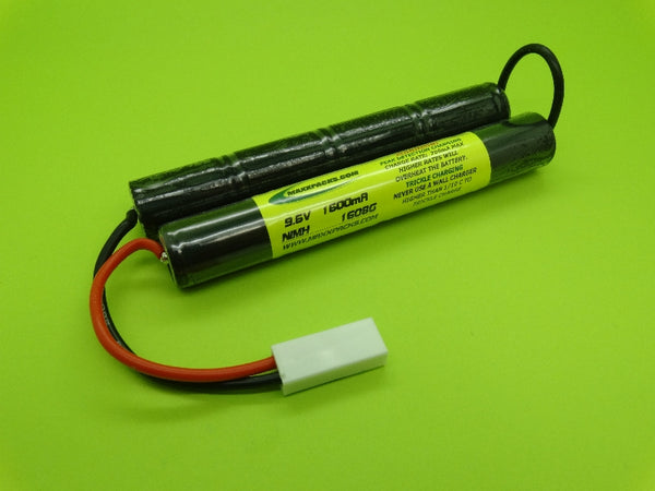 1608G ATTACK PACK: 9.6v NiMH 1600mah Airsoft G36 Pack