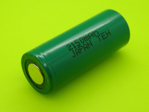 4/5 A 2150mAh Sanyo / FDK HR-4/5AUL NIMH FLAT TOP CELL