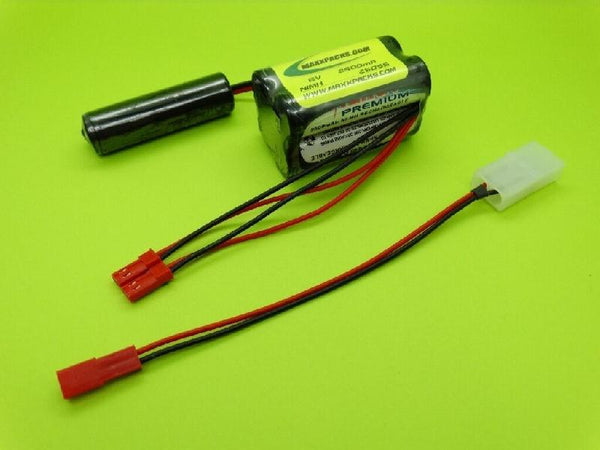 2605S 6V 2600mAh NiMH Receiver pack for HPI Savage