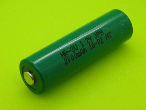 AA 2700mAh Sanyo / FDK HR-3U NIMH BUTTON TOP CELL