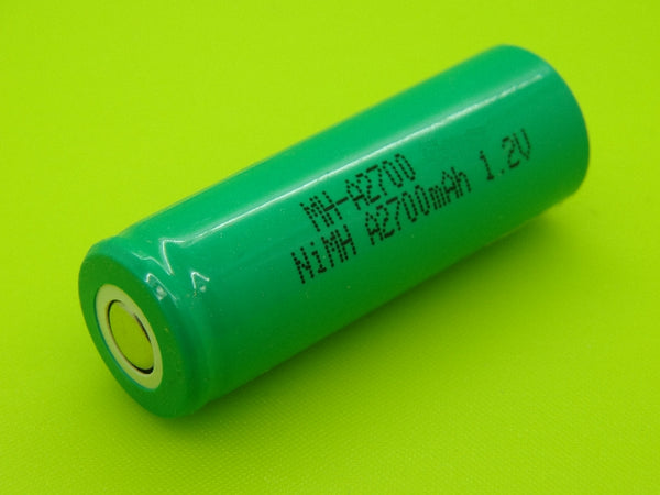 A 2700mAh NIMH FLAT TOP CELL