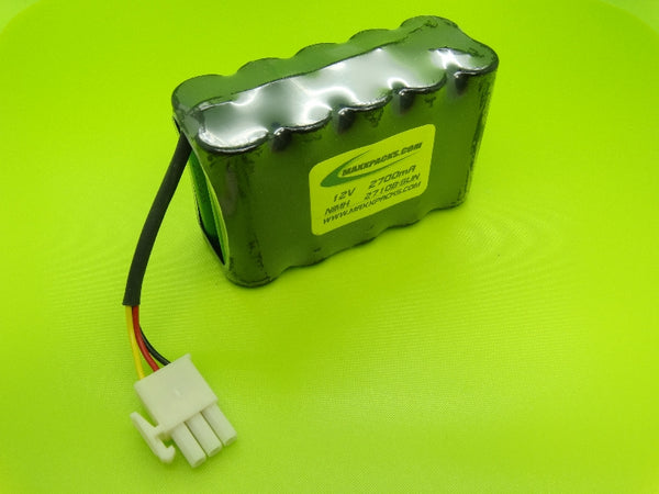 2710B-SUN 12v 2700mah 10 cell NIMH CM1000BP BATTERY FOR SUNRISE TELECOM CM METERS