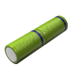 10002S 2.4v 10000mah NiMH 2 cell D Stick Pack