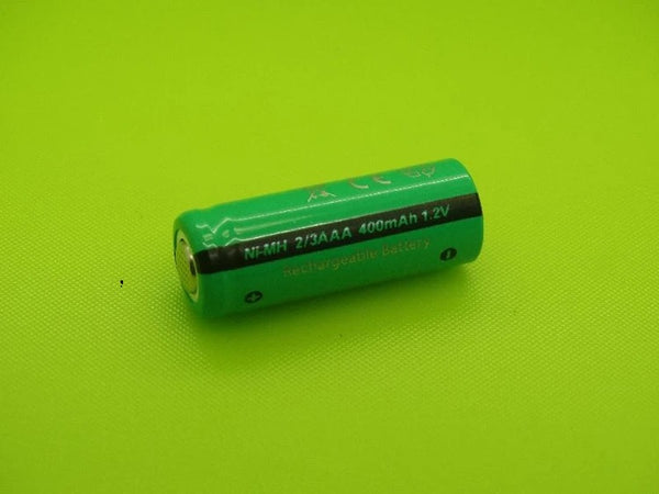2/3 AAA 400mAh NIMH FLAT TOP CELL