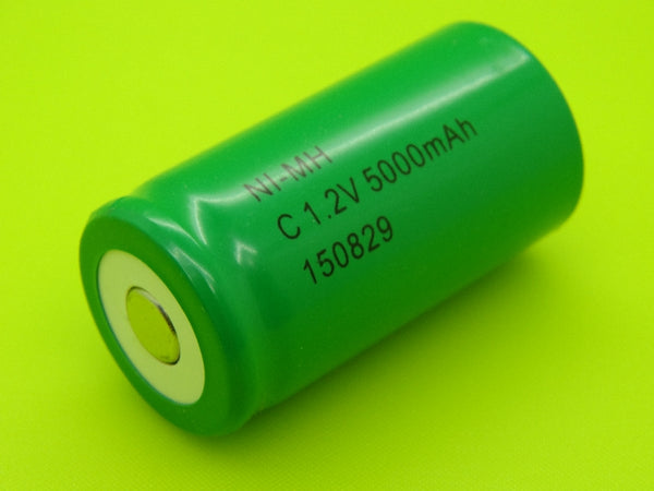 C 5000mAh NIMH FLAT TOP CELL